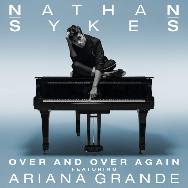 Nathan Sykes - Over and Over Again (feat. Ariana Grande) - Single Cover