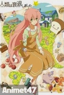 Jinrui wa Suitai Shimashita -  2013 Poster