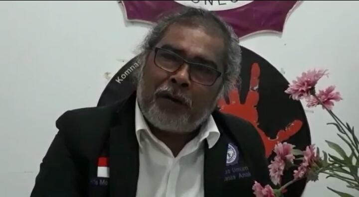 Ketua Komisi Nasional Perlindungan Anak Indonesia Arist Merdeka Sirait