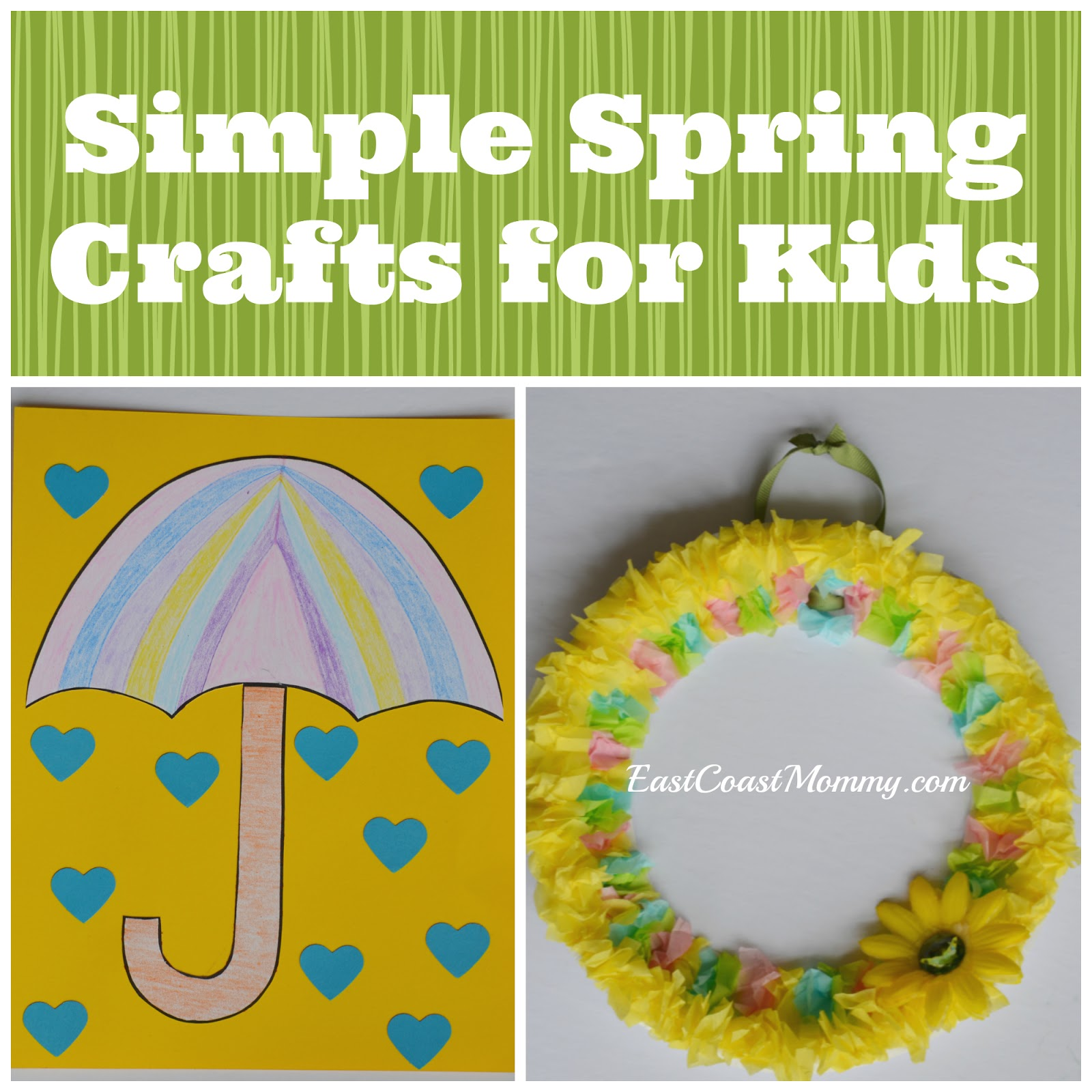 East Coast Mommy: Simple Spring Crafts for Kids