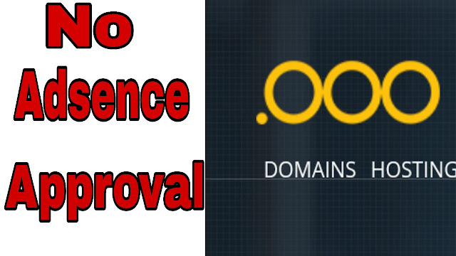 .Ooo domain update ,No adsence approve