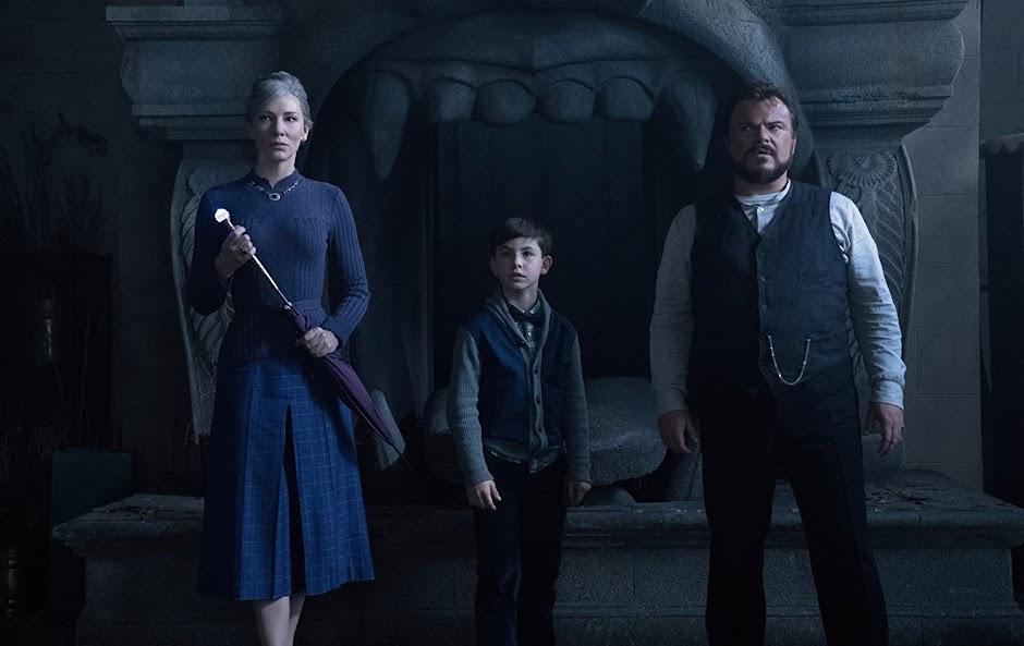 """Cate Blanchett e Jack Black no trailer da fantasia de terror """"O Mistério do Relógio na Parede"""""""