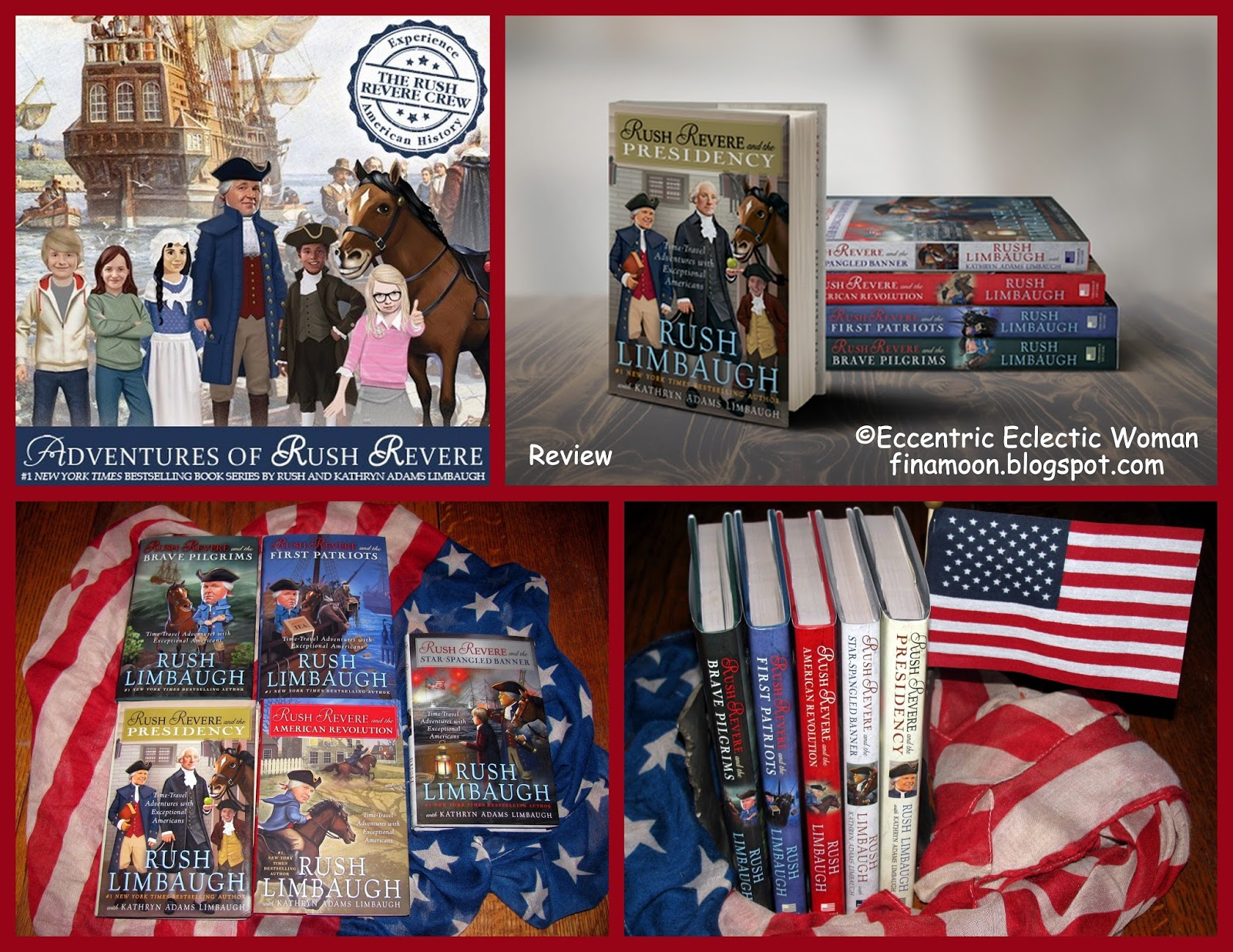 Eccentric Eclectic Woman Adventures Of Rush Revere Book Series Review