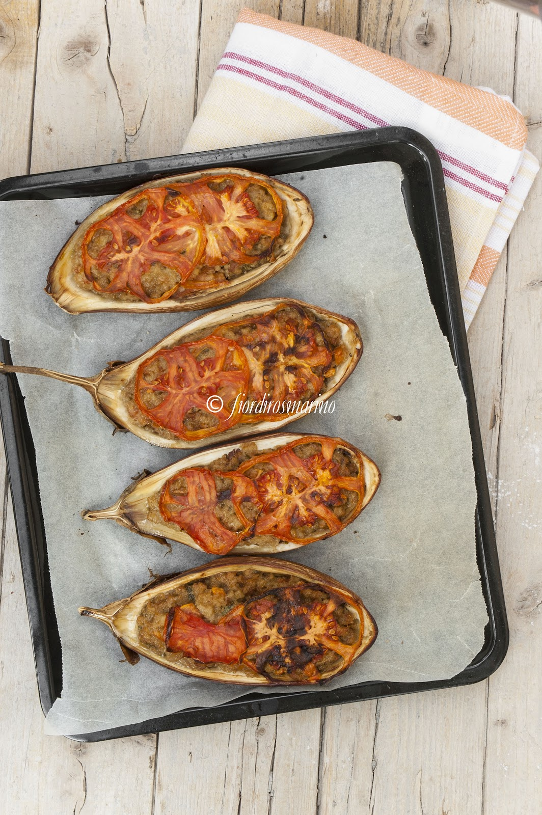 Eccezionale Melanzane striate ripiene - Cucina Italiana Blog by Fiordirosmarino QC13
