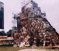 Modell von Schloss Adler bei MGM