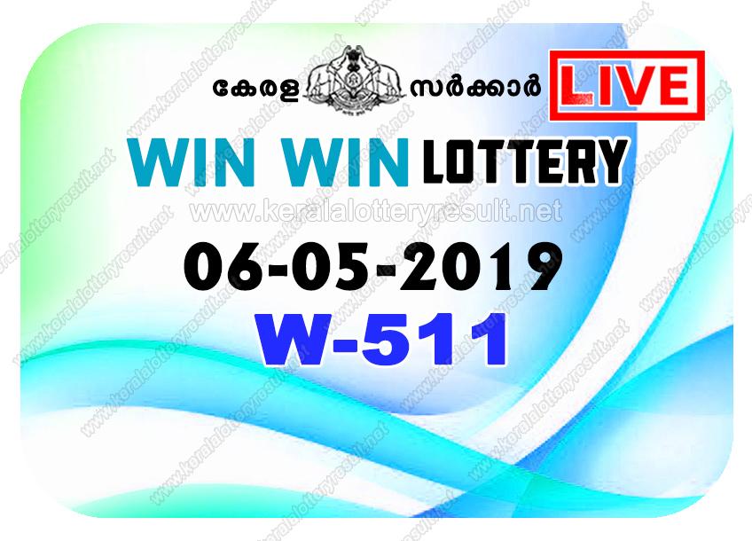Kerala Lottery Result 06/05/2019 ; Win Win Lottery Results