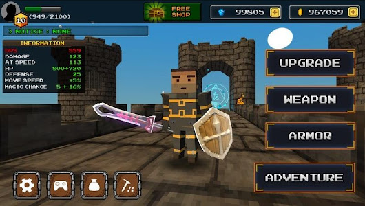 Pixel F Blade 3D Fantasy RPG Apk Mod Unlimited Money 4.2  - WTFapk | Download Game