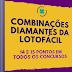 Combinações diamantes da lotofácil 14 e 15 pontos em qualquer concurso