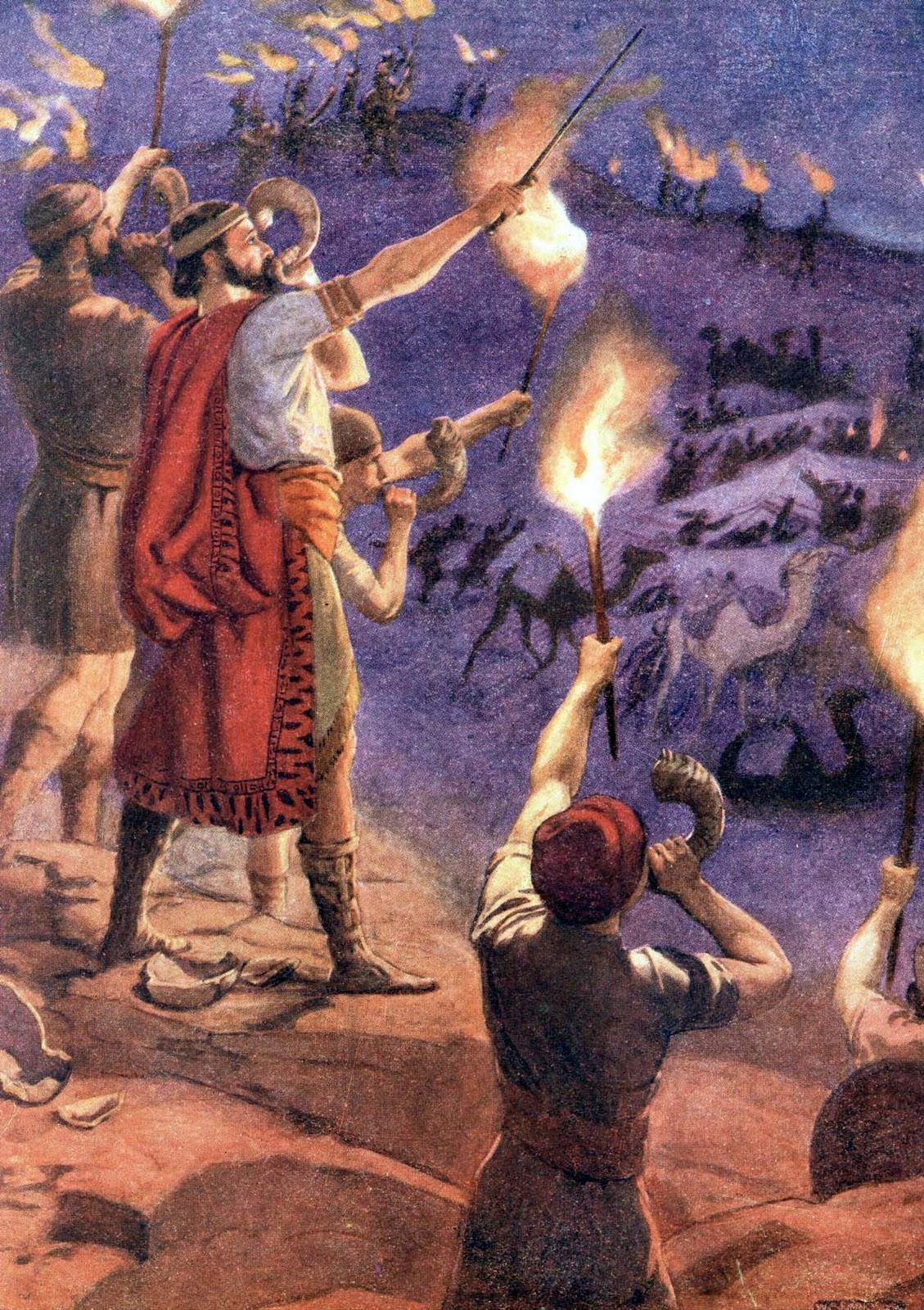 Bible Stories Gideon 021011  Bible Vector  10 Full
