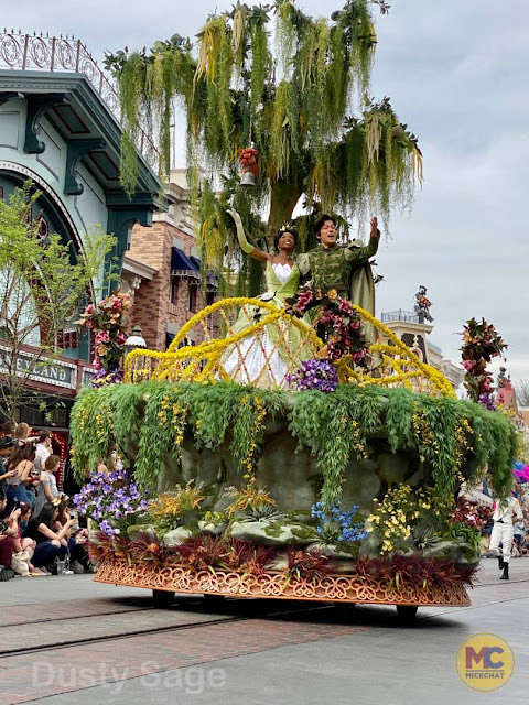 The Princess and the Frog Magic Happens Float