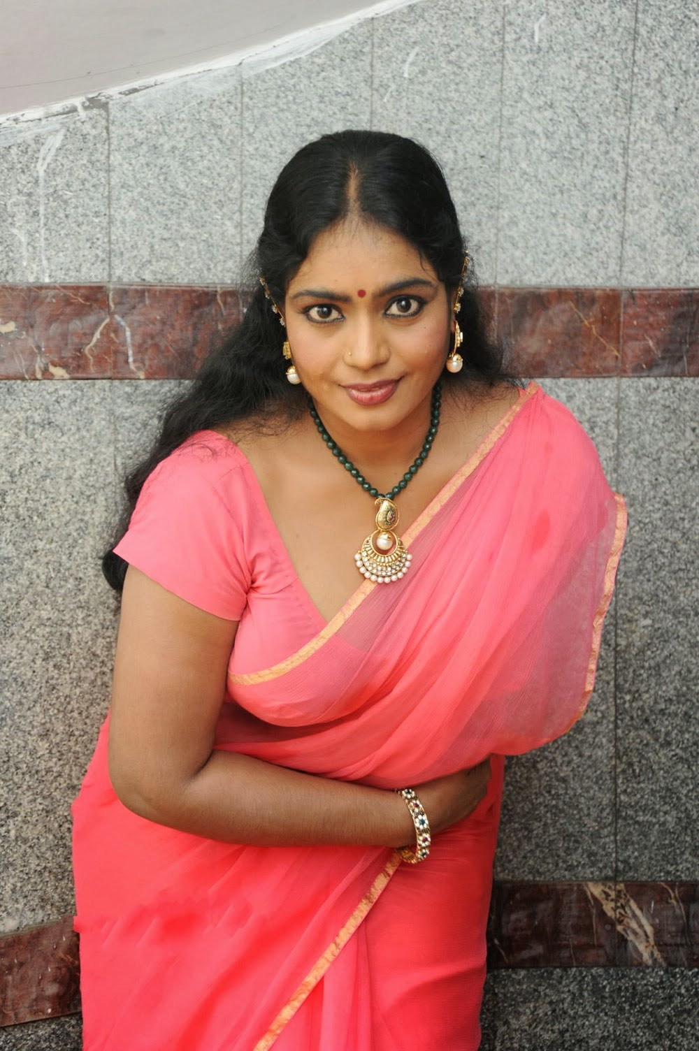 Jayavani Latest Hot Saree Photos Gallery Hd  Tollywood -6640