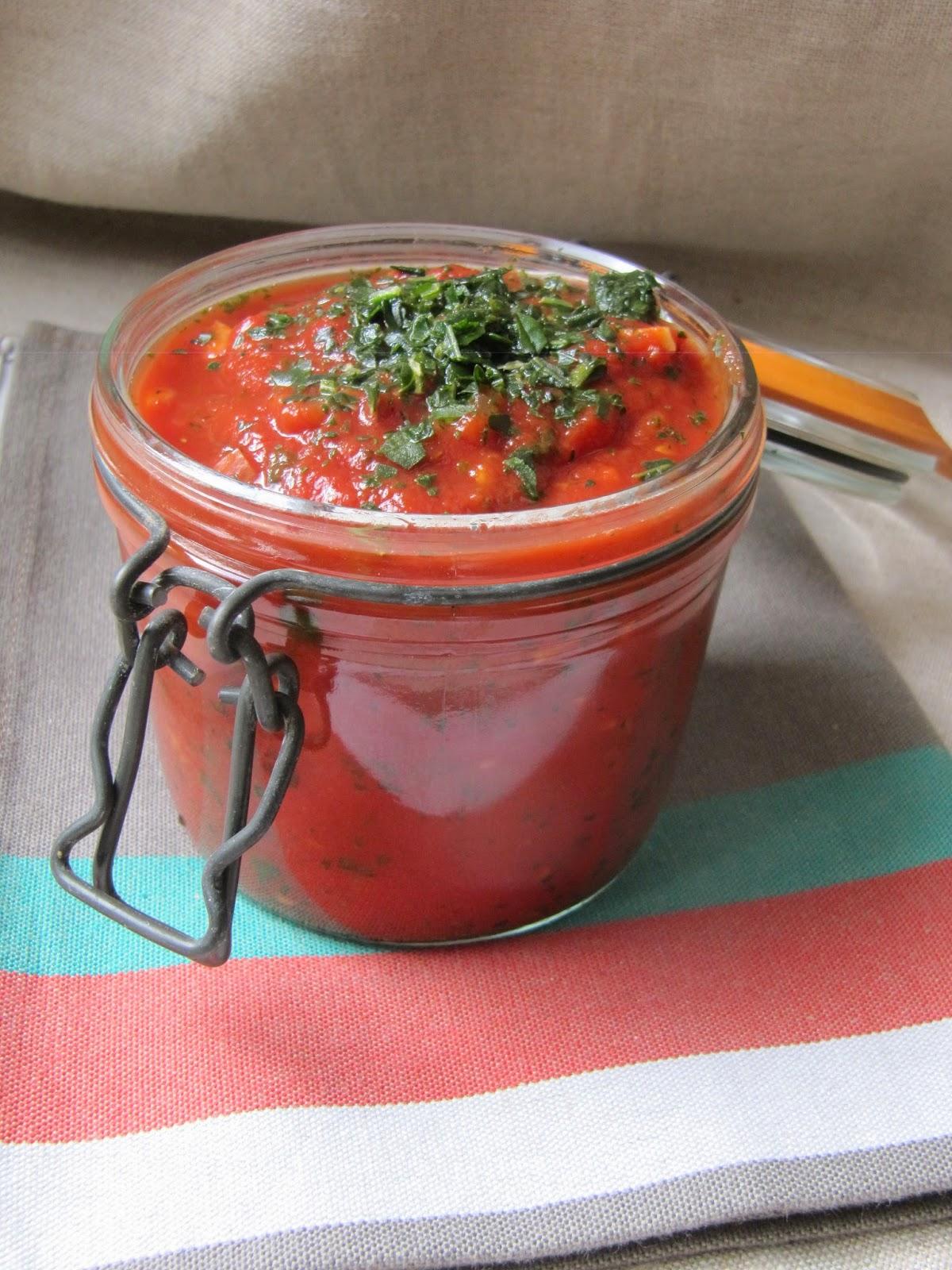 La cuisine d 39 ici et d 39 isca sauce tomate l g re - Cuisine legere au quotidien ...