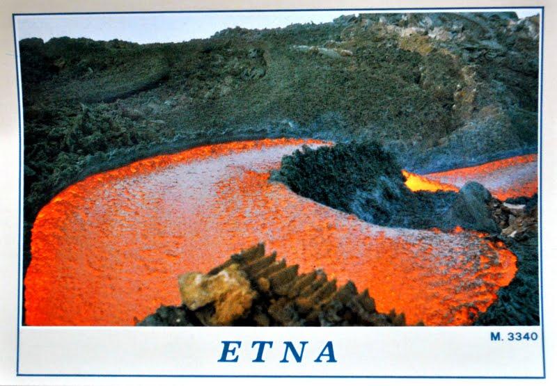 wulkan etna