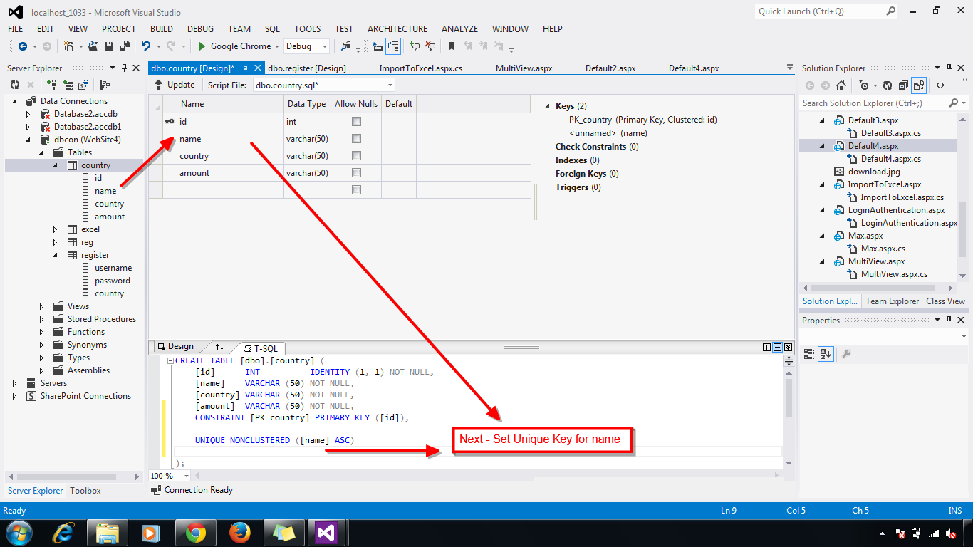 how to make sure you allocate imported major throughout sqlyog