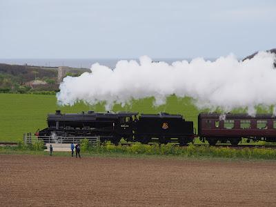 Steam engine heading to Weybourne