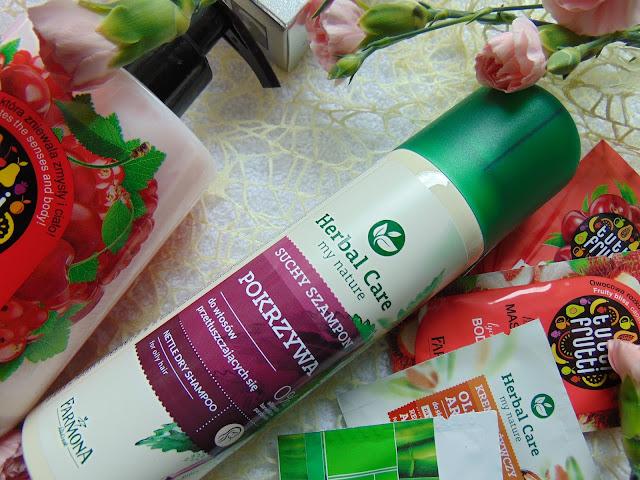 FARMONA Herbal Care - Suchy szampon POKRZYWA do włosów przetłuszczających