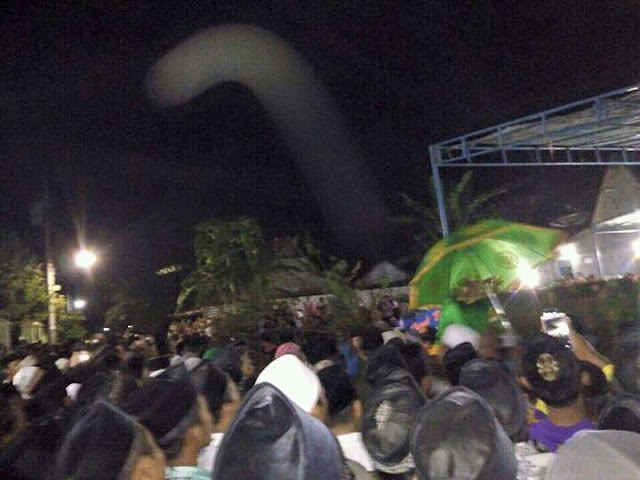 Suasana Pemakaman KH. A. Tamamuddin Munji