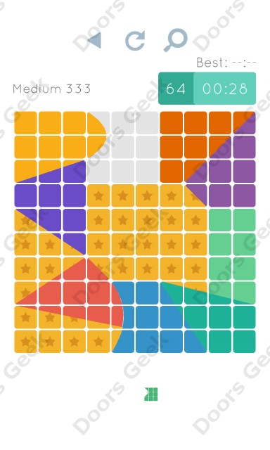 Cheats, Walkthrough for Blocks and Shapes Medium Level 333