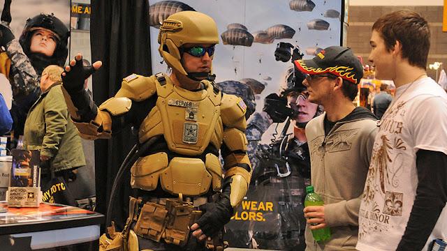 """El Ejército de EE.UU. busca diseños para un uniforme de """"Iron Man"""""""