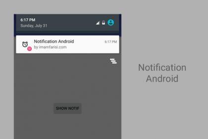 cara mudah menghilang notifikasi dari aplikasi tertentu