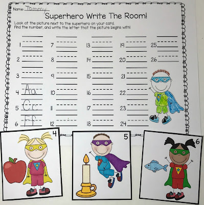 https://www.teacherspayteachers.com/Product/Superhero-Alphabet-Activities-for-Letters-and-Sounds-3417938