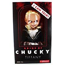 Muñeca parlante Tiffany La novia de Chucky 38 cm
