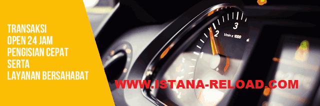 ISTANA RELOAD server Distributor Pulsa Termurah dan Terlengkap
