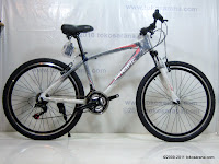 A 26 Inch Pacific Masseroni 2.0 Alloy Frame Mountain Bike