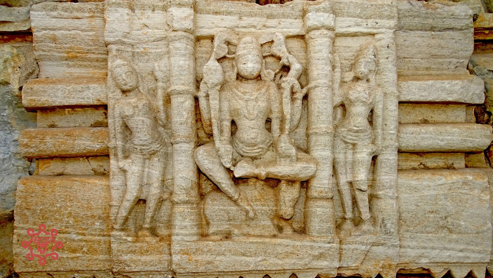 Rock Carved Statues Samadhiswar Temple Chittorgarh