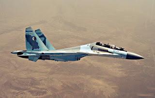 Jet Tempur Su-30MKA Angkatan Udara Aljazair