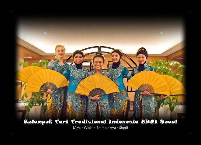 Menarikan Indonesia Bersama KTTI di Korea