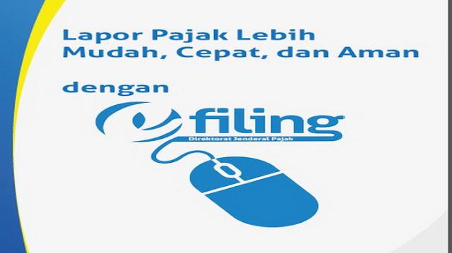 e-Filing Melalui layanan DJP Online djponline.pajak.go.id