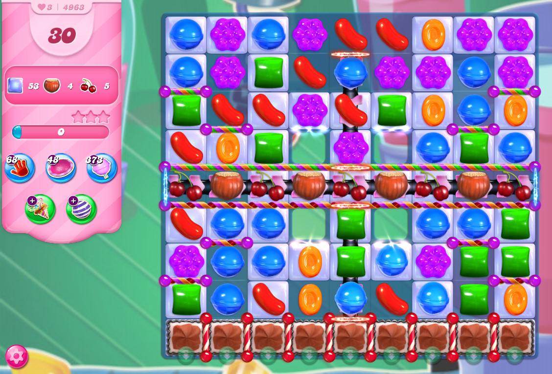 Candy Crush Saga level 4963