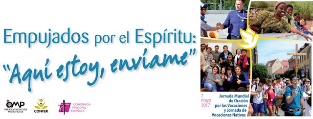 54 Jornada Mundial de Oración por las Vocaciones y Vocaciones Nativas