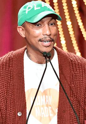Pharrell Williams 'ages'