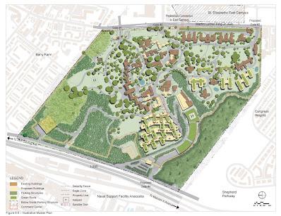 Campus plan - real estate development in Washington DC