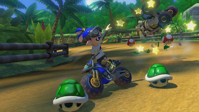 Mario Kart 8 racing game
