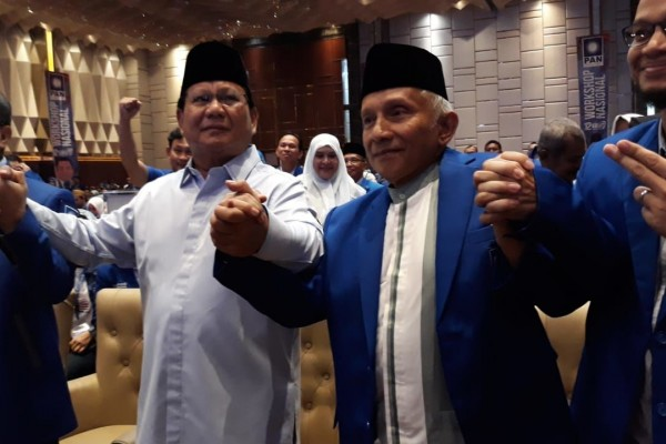 Amien Rais: Tahun Depan Kita Punya Presiden Baru, Namanya Prabowo