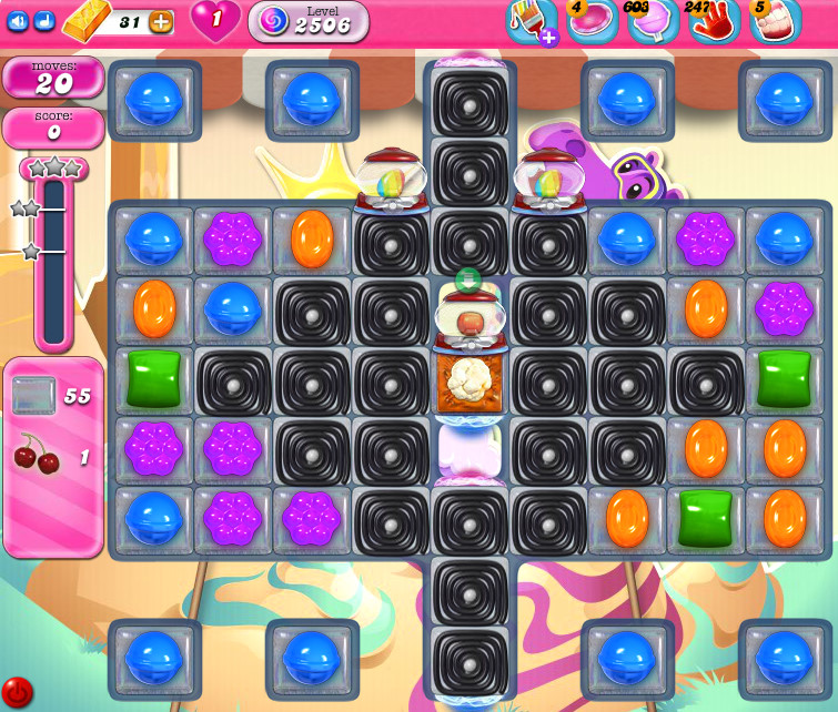 Candy Crush Saga level 2506