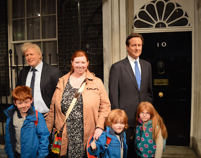 Madame Tussauds London including Star Wars,  A Review  - David Cameron and Boris Johnson