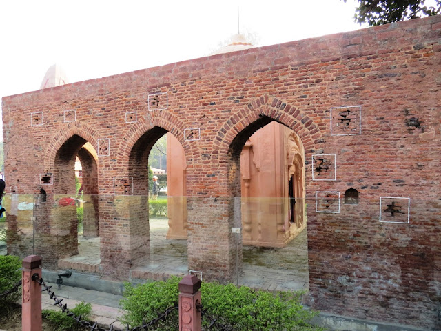 Bullet Marks at Jallianwala Bagh