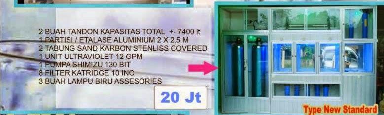 Paket Depot Air Minum Isi Ulang Type Ekonomi (standard) - Depo AMDK