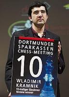 Kramnik consigue su décimo Torneo de Ajedrez de Dortmund