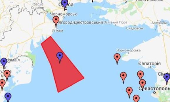 Україна перекрила небо над морем для ракетних стрільб