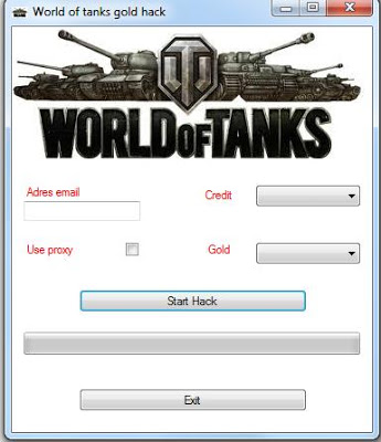 world of tanks gold cheat engine