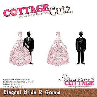 http://www.scrappingcottage.com/cottagecutzelegantbrideandgroom.aspx