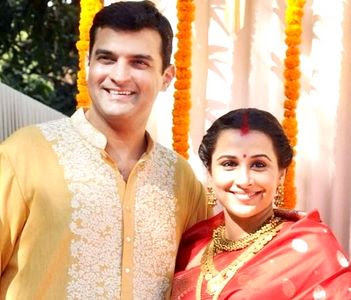 Vidya Balan Sidharth marriage