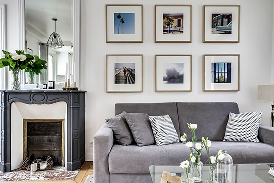 sala de estar, sala decorada, decoração escandinava, decor, living room, apartamento pequeno, decoração