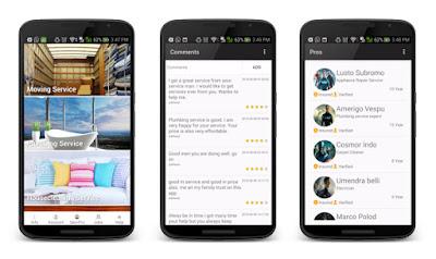 7 Android Template untuk Inspire Proyek membuat Aplikasi Android