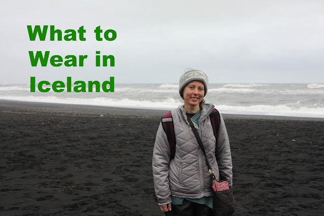 Standing at the Black Sand Beach in Iceland